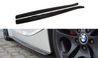 Seitenschweller Ansatz Passend Für BMW Z4 E85 / E86 Vor Facelift Schwarz Hochglanz