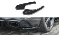 Heck Ansatz Flaps Diffusor Für Audi RS3 8V FL Sportback Schwarz Hochglanz