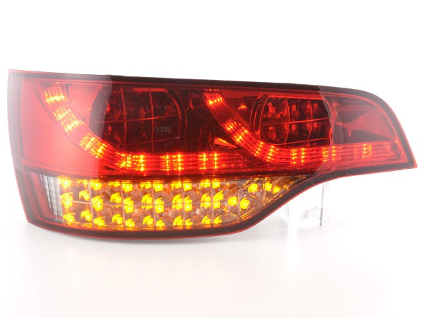 LED Rückleuchten Set Audi Q7 Typ 4L Bj. 06- rot/schwarz