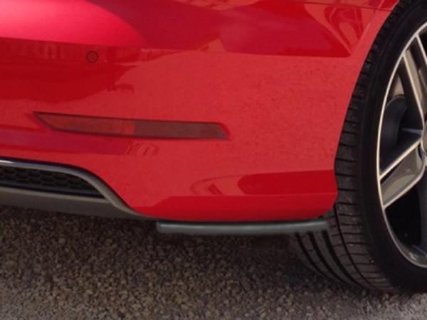Heckansatz Seitenteile für Audi A3 8V S-Line Limousine + Cabrio