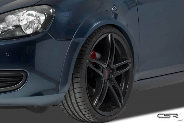 Kotflügelverbreiterung vorne für VW Golf 6 VB015