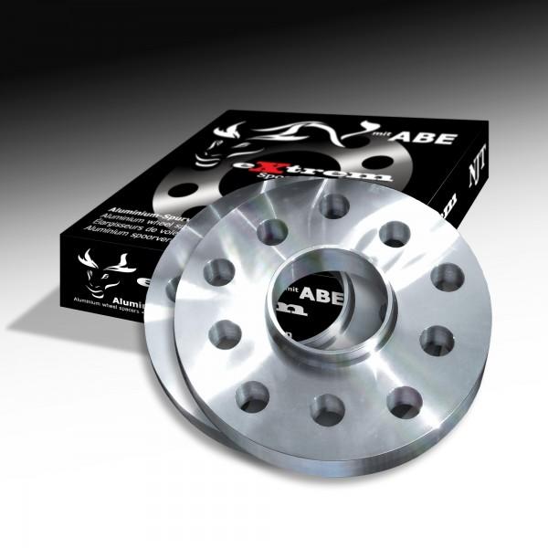 Novus NJT Alu Spurverbreiterung 40mm LK 5x108 / 5x110 für ALFA/FIAT/OPEL/SAAB mit ABE