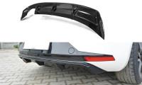 Diffusor Heck Ansatz Passend Für SEAT LEON III FR Carbon Look