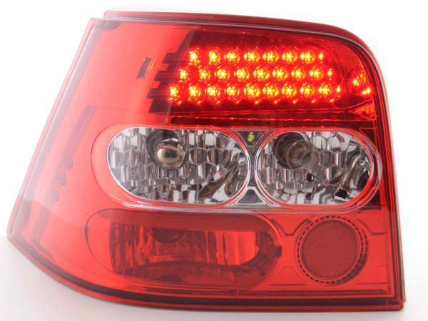 LED Rückleuchten Set VW Golf 4 Typ 1J 98-02 klar/rot