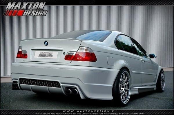 Heckstoßstange BMW 3er E46 - 4 TÜRER LIMOUSINE