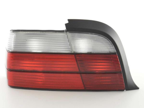 Rückleuchten Set BMW 3er Coupe Typ E36 91-98 rot/weiß