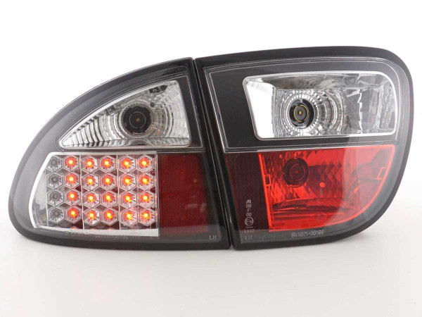 LED Rückleuchten Set Seat Leon Typ 1M 1999-2005 schwarz