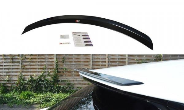 Spoiler CAP Passend Für Lexus RX Mk4 Schwarz Hochglanz