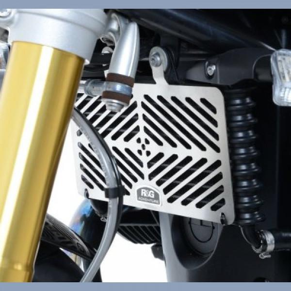 R&G Racing Ölkühler Kühlergitter Edelstahl BMW R NINE T 2014-