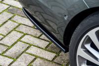 Heckansatz Seitenteile für Opel Astra K Sportstourer ab Bj. 2015-2019 Ausführung: Matt schwarz