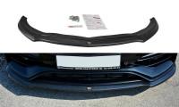 Front Ansatz Passend Für V.1 Mercedes A W176 AMG Facelift Schwarz Hochglanz