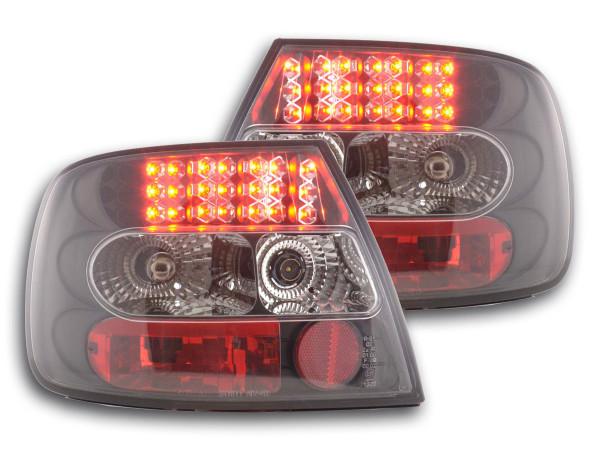 LED Rückleuchten Set Audi A4 Limousine Typ B5 95-00 schwarz S4 / TDI