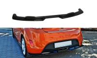 Diffusor Heck Ansatz Passend Für Hyundai Veloster Schwarz Matt