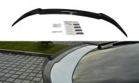 Spoiler CAP Passend Für Honda Civic Mk9 Facelift Schwarz Hochglanz