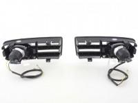 Nebelscheinwerfer VW Golf 4 Bj. 98-02 schwarz mit Blende