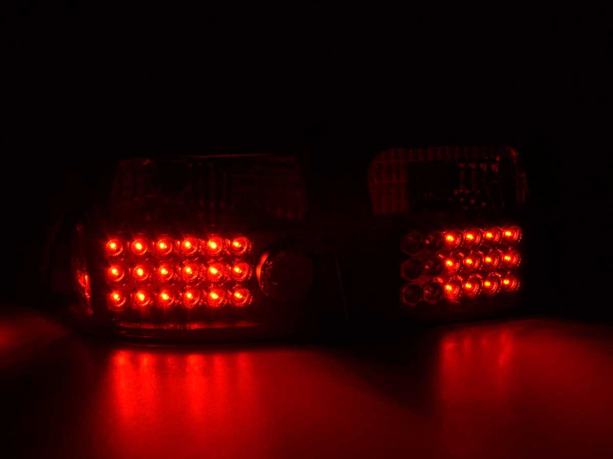 96-00 schwarz Led Rückleuchten Honda Civic 2-trg Typ EJ6//7//8//EM1 Bj