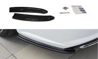 Heck Ansatz Flaps Diffusor Passend Für Audi A6 C7 Avant S-line/ S6 C7 Facelift Carbon Look