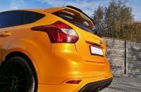 Spoiler CAP Für Ford Focus ST Mk3 / Mk3 FL Schwarz Hochglanz