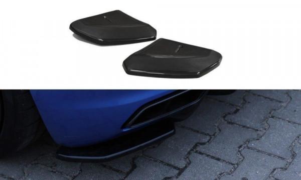 Heck Ansatz Flaps Diffusor Passend Für Audi R8 Mk.2 Schwarz Matt