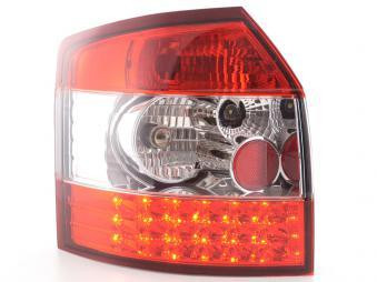 LED Rückleuchten Set Audi A4 Avant Typ 8E 01-02 klar/rot