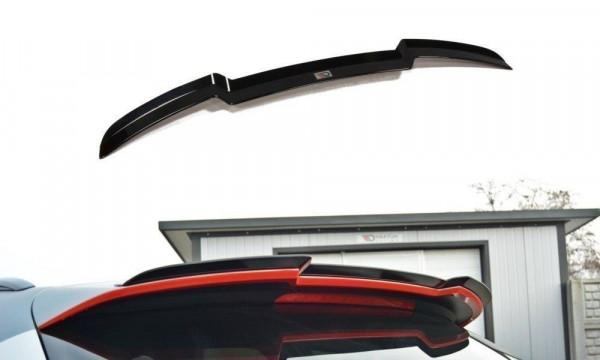 Spoiler CAP Passend Für Audi RS6 C7 / C7 FL Schwarz Hochglanz