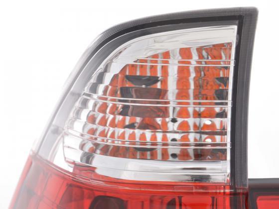 Rückleuchten Set BMW X5 Typ E53 Z33 Bj. 98-03 rot/weiß