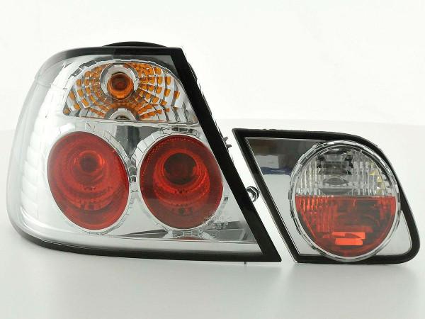 Rückleuchten Set BMW 3er Coupe Typ E46 99-02 chrom