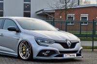 Cup Frontspoilerlippe für Renault Megane 4 RS Facelift Ausführung: Matt schwarz