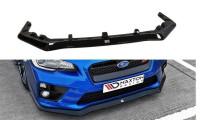 Front Ansatz Passend Für Subaru Impreza MK4 WRX STI V.1 Schwarz Matt