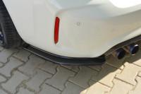 Heck Ansatz Flaps Diffusor Für BMW M2 (F87) COUPÉ Carbon Look
