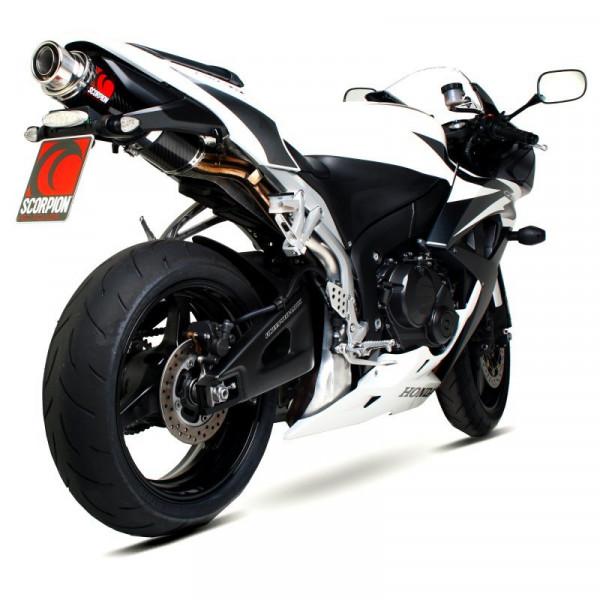 Scorpion Stealth Auspuff Honda CBR 600 RR 2007-2012