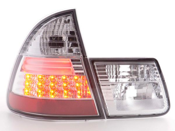 LED Rückleuchten Set BMW 3er Touring Typ E46 98-05 chrom