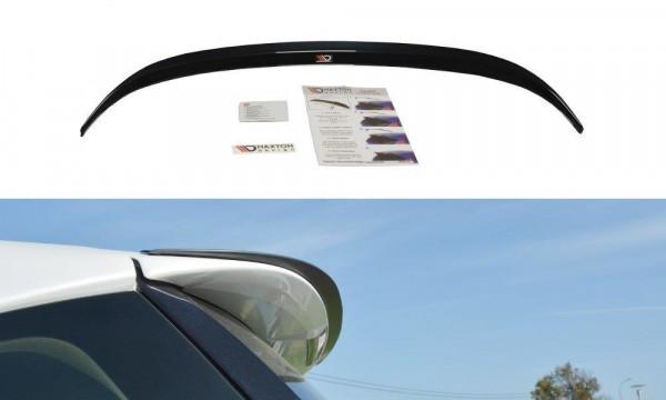 Spoiler CAP Passend Für Lexus CT Mk1 Facelift Schwarz Matt