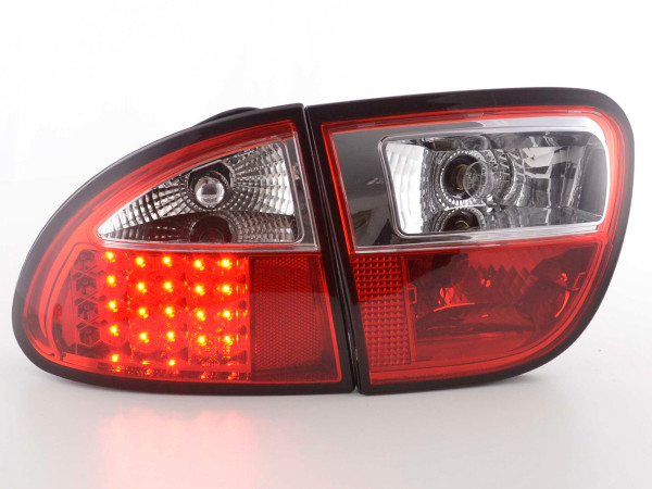 LED Rückleuchten Set Seat Leon Typ 1M 1999-2005 rot
