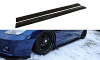 Seitenschweller Ansatz Passend Für TOYOTA CELICA T23 TS Vor Facelift Carbon Look