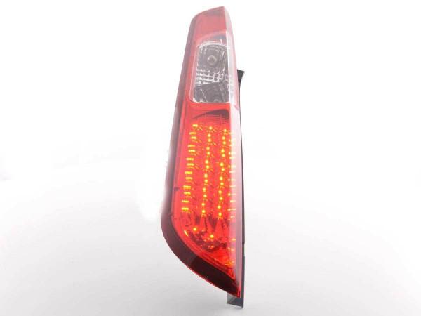 LED Rückleuchten Set Ford Focus 2 5-türig Bj. 04-07 klar/rot