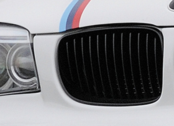 Facelift BMW-Niere rechts, Glanzschwarz für BMW 1er E82, E88 (182 / 1C) Coupé 10.07-