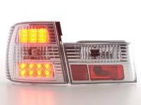 LED Rückleuchten Set BMW 5er Typ E34 Bj. 88-94 chrom