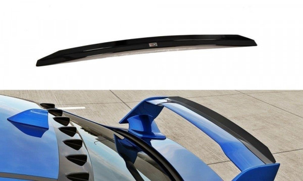 Spoiler CAP Passend Für SUBARU WRX STI Carbon Look