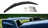 Spoiler CAP Passend Für Mercedes A W176 AMG Facelift Schwarz Hochglanz