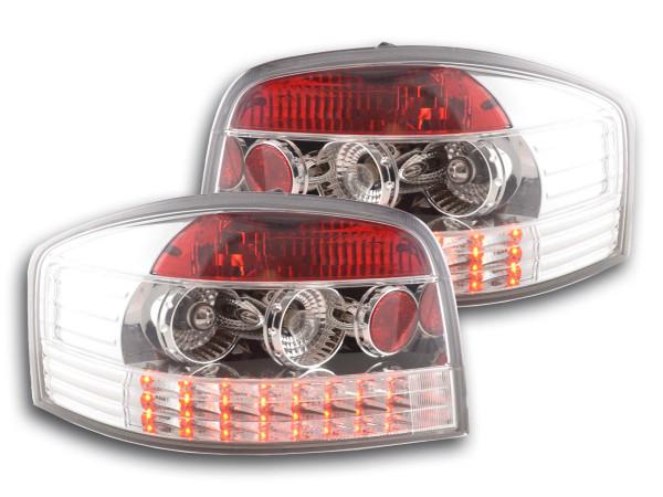 LED Rückleuchten Set Audi A3 Typ 8P 03-05 chrom
