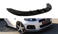 Front Ansatz Passend Für V.1 FIAT GRANDE PUNTO ABARTH Carbon Look