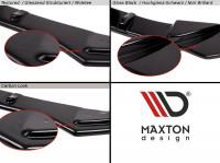 Heck Ansatz Flaps Diffusor Passend Für BMW 5er E60/E61 M Paket Carbon Look