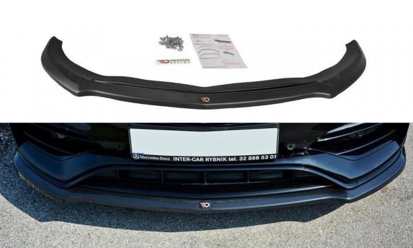 Front Ansatz Passend Für V.1 Mercedes A W176 AMG Facelift Carbon Look