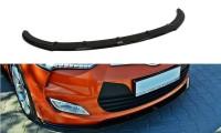 Front Ansatz Passend Für Hyundai Veloster Schwarz Matt