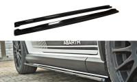 Seitenschweller Ansatz Passend Für FIAT GRANDE PUNTO ABARTH Carbon Look