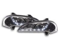 Scheinwerfer Set Daylight LED TFL-Optik Opel Tigra 95-03 chrom