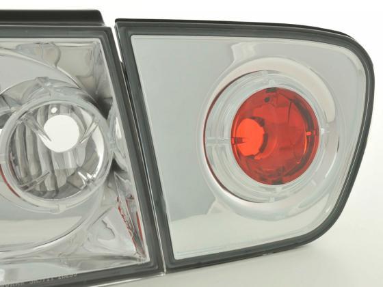 Rückleuchten Seat Ibiza Typ 6K Bj. 99-02 chrom