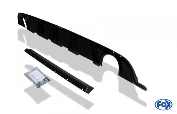 VW Golf VII Facelift starre Hinterachse - Einsatz schwarz Endschalldämpfer rechts/links - 1x100 Typ