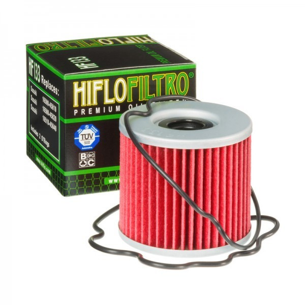 Hiflo Ölfilter HF133, mit Dichtung, (Alternative Champion 089307)